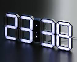 Minimalistic Wall Clock by Minimalistic Digital Led Clock Stuff You Should Have