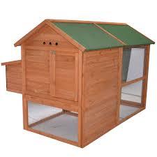 backyard chicken coops amazon com pawhut 71