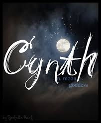 baby name cynth meaning moon goddess or moon origin a