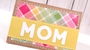 diy mother u0027s day card make a card monday 249 youtube