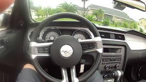rent a mustang in usa 2012 mustang convertible rental car