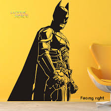 compare prices on batman wall decal online shopping buy low price batman vinyl wall decals dark knight sticker comics art removable wall stickers home decor cartoon embellish