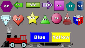 shapes u0026 colors sorting song for kids colors train educational