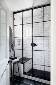 Bathrooms With Subway Tile Ideas by Best 25 Black And White Bathroom Ideas Ideas On Pinterest