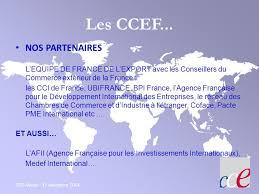 chambre de commerce française à l étranger comité national des conseillers du commerce extérieur de la