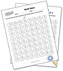 math maze worksheetworks com free worksheet generator