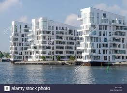 Modern Apartment by Havneholmen Modern Apartment Houses Copenhagen Denmark Stock