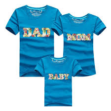 2016 family look baby t shirts family look