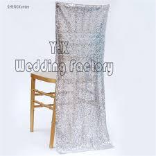 Chiavari Chair Covers Aliexpress Com Buy 50pcs Lot Sequin Chiavari Chair Cover Chair