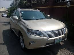 price of lexus rx 350 nairaland registered 2013 lexus rx350 for sale autos nigeria