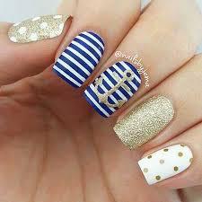 17 new blue and white nail designs u2013 nail designs 2017
