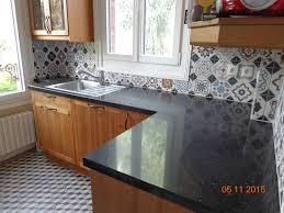 cuisine avec pose beau cuisine avec ilot central et bar 9 au sol anthracite et