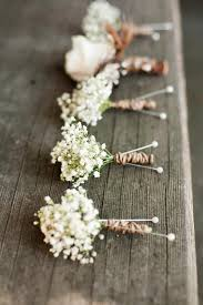 rustic wedding bouquets 68 baby s breath wedding ideas for rustic weddings deer pearl