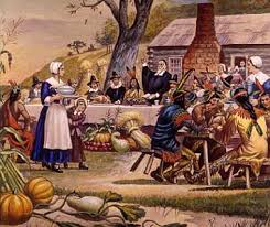 history of thanksgiving the flag press