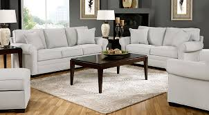Rooms To Go Living Rooms - cindy crawford home bellingham platinum 7 pc living room living