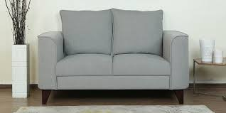 buy castilla two seater sofa in chrome grey colour by casacraft