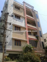 beautiful apartment style 4 floor house elevation latest house