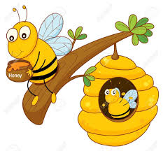 cartoon drawing honey bee honey bee clipart clipart kid