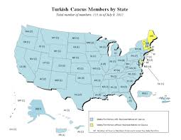 Utd Map 45 Out Of 50 States Now Represented In The Congressional Caucus On