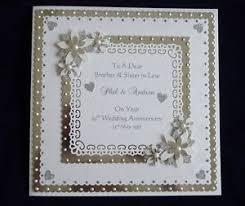 60th wedding anniversary greetings 25th 60th silver or diamond wedding anniversary card large card