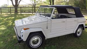 Vw Thing Side Curtains West Tn 1974 Volkswagen Thing Type 181 Survivor Convertible