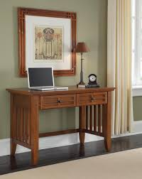 Arts And Crafts Sofa Table by Home Styles Arts And Crafts Cottage Oak Student Desk 5180 16