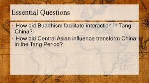 ap world history october 30 warm up question tang dynasty tang