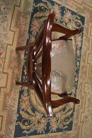 details about mahogany dining room chairs carved shield back