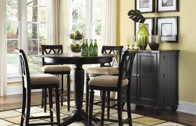 Dining Room Chairs Set Of 4 Dining Room Endearing Small Tall Dining Room Table Enchanting
