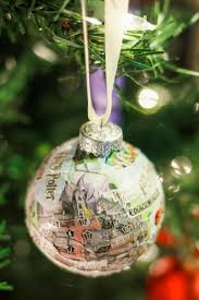 Universal Studios Christmas Ornaments - diy universal studios map ornament