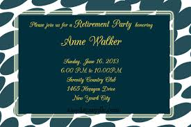 retirement party invitation wording retirement party invitation sle easyday