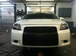 blacked out my bumper and grilles scion tc forums