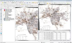 Spine Map Qgis Georeferencer Gcp Projection Problem Geographic