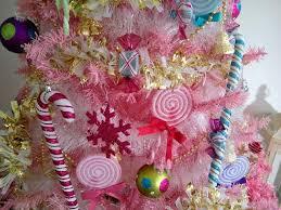 top 40 pink christmas trees christmas celebrations