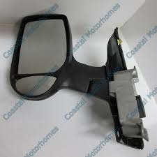 ford transit right n s nearside manual door wing mirror 2000 2015