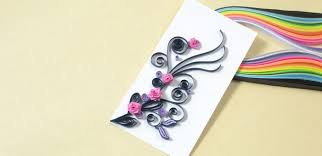 how to make a handmade quilling paper card for s