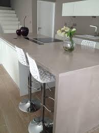 beton ciré cuisine plan de travail cuisine en béton ciré à quiberon artisan en