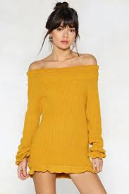 yellow sweater dress knit s up to you sweater dress shop clothes at gal