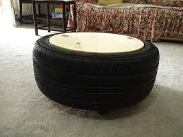 Car Tyre Coffee Table