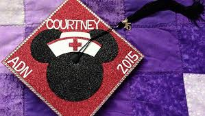 nursing graduation cap pomp and circumfance disney fan graduation caps d23