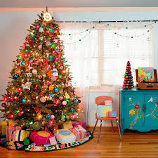 christmas trees with colored lights decorating ideas merry christmas living room christmas tree multi colored lights