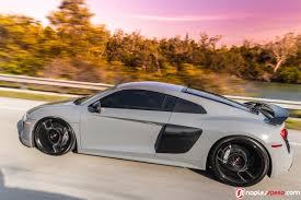 Audi R8 Nardo Grey - as exclusive as it gets nardo gray r8 on vossen cg 204