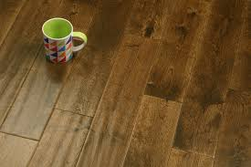 125mm golden oak handscraped eng floors engineered wood