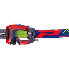 von zipper motocross goggles progrip 3218 venom orange blue roll off goggles mxstore picks