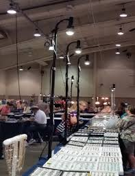 light rentals convention expo booth lighting portable led display light