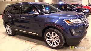 Ford Explorer Colors - 2016 ford explorer limited exterior and interior walkaround