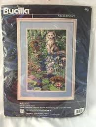 bucilla needlepoint kit reflections new n package out of