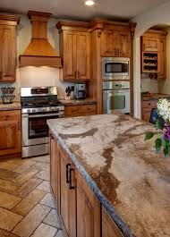Rustic Cherry Traditional Kitchen Salt Lake City By Crown - Rustic cherry kitchen cabinets