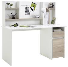 Mini Schreibtisch Schreibtisch Cambridge Weiß Sonoma Eiche Nachbildung Ca 135 X 130