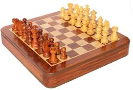 Buy Chess Set Stonkraft Collectible Wooden Chess Game Board Set Wood Magnetic